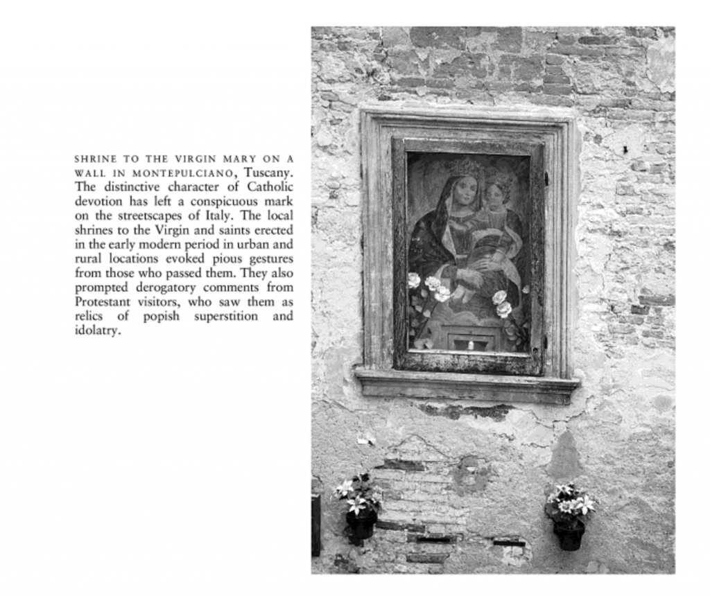 The Oxford Illustrated History of the Reformation used this photo from Montepulciano